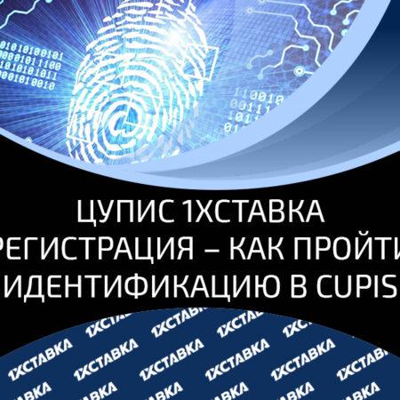 Верификация в ЦУПИС для регистрации в БК 1хСтака – регистрация профиля в CUPIS