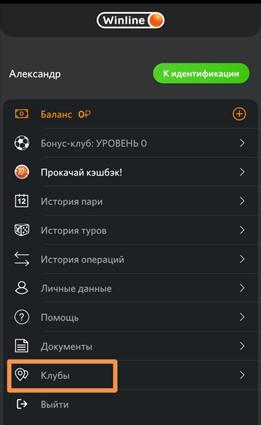 Верификация аккаунта в пунктах приема ставок WinLine